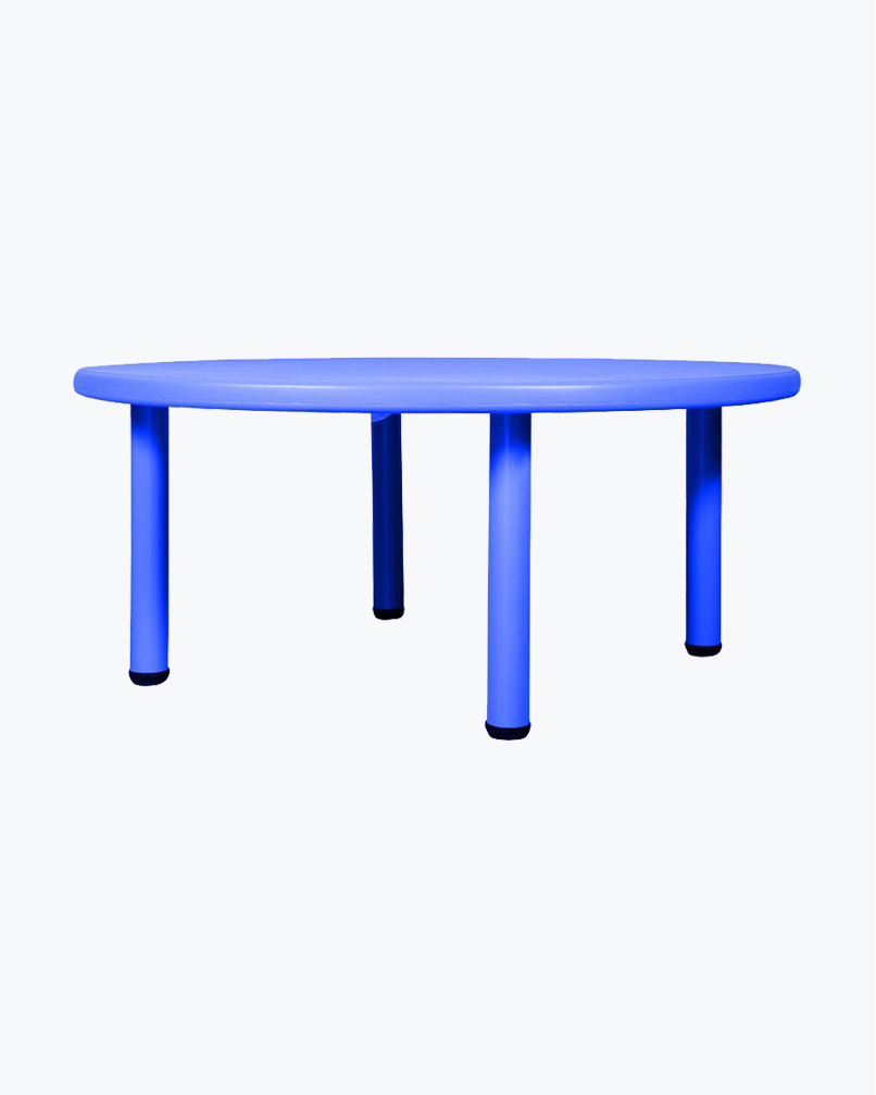 Round Table (Without Chairs) Blue
